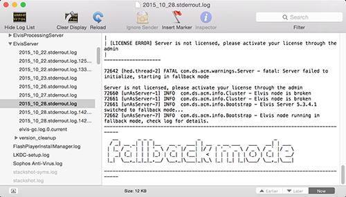 Fallback mode