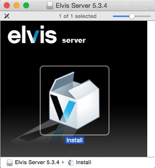 The Elvis installer
