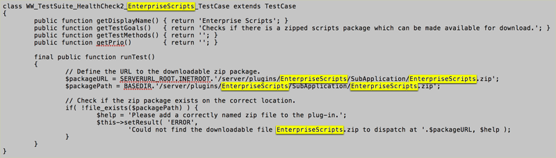The content of the TestCase file renamed