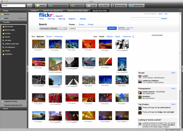 The Flickr Web site