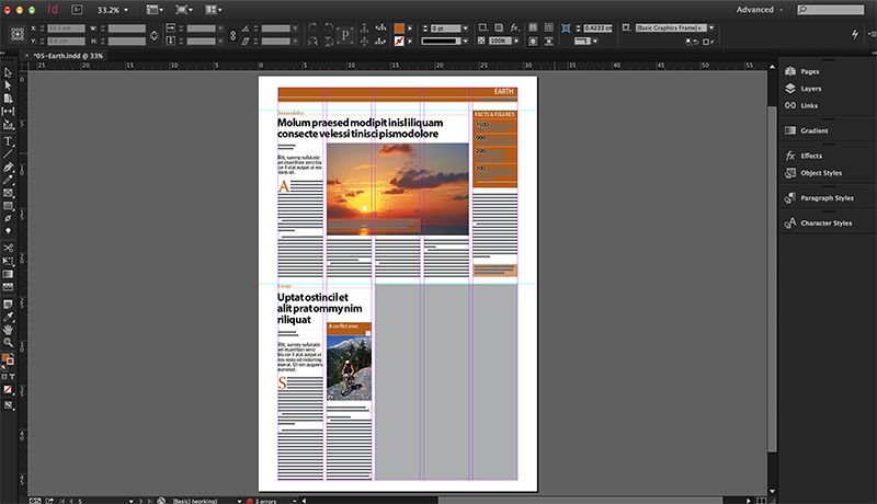 Editing Indesign Layouts Containing Links To Elvis 4 Home