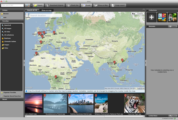 Geotagging example 2