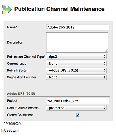 The Adobe DPS 2015 Channel