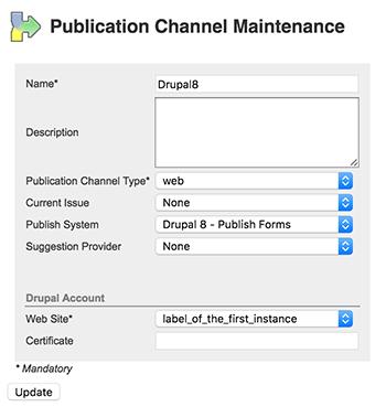 Drupal 8 options