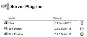 The Elvis Server plug-in