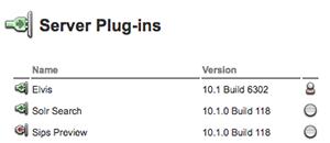 The Elvis Server plug-in