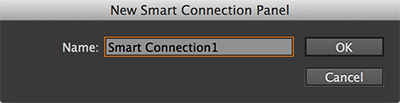 The New Smart Connection Panel dialog box