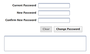 Options for changing your password