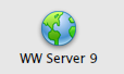 Default Web Server icon