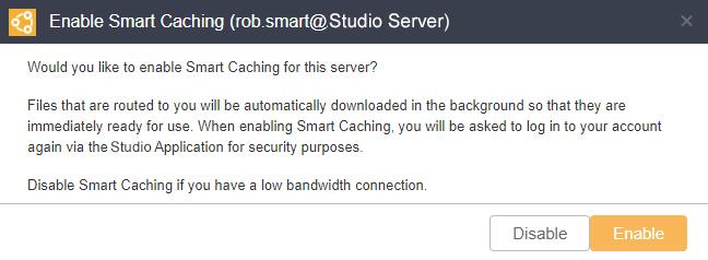 Enabling Smart Caching