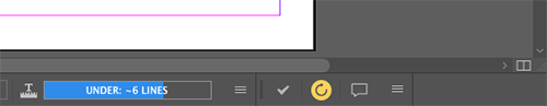 The Smart Connection toolbar docked next to the overset information
