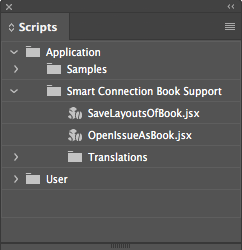 Working with InDesign Books in Smart Connection for InDesign – Home