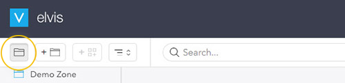 The Folder Browser icon.