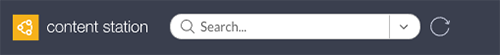 The Reload search results button