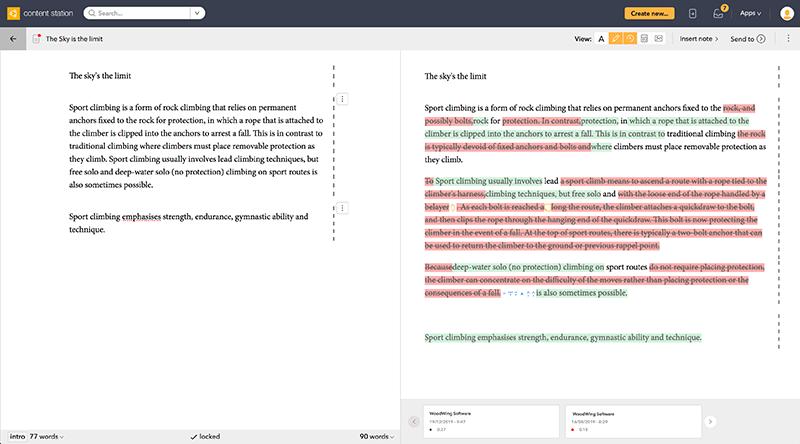 Comparing Print articles