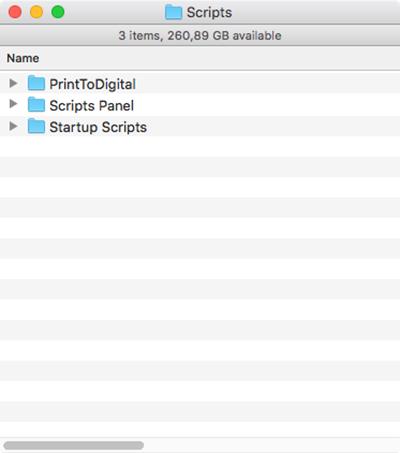 The Scripts folder