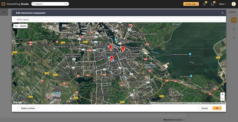 Editing a Google Map