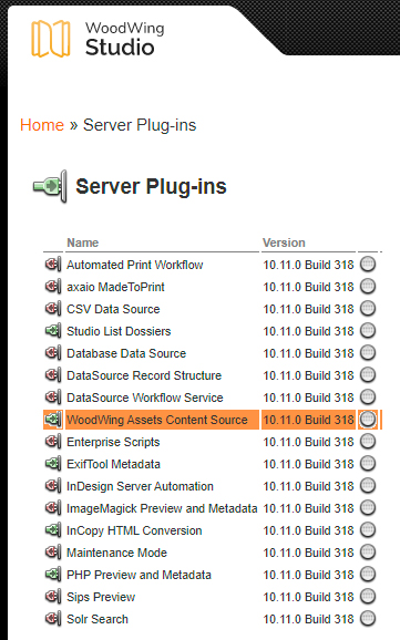 The Assets Server Content Source plug-in