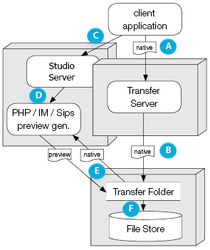 Studio Server image preview generation