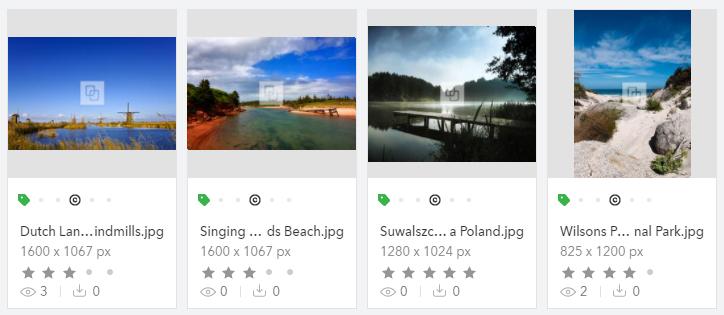 Watermark on thumbnails